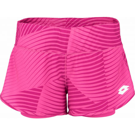 Dámské tenisové šortky - Lotto TOP TEN W II SHORT PRT PL - 2