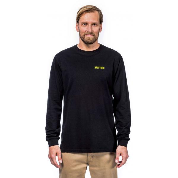 Horsefeathers ELVIN ATRIP T-SHIRT - Pánske tričko s dlhým rukávom