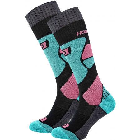 Horsefeathers MAURA THERMOLITE SOCKS - Dámske snowboardové ponožky