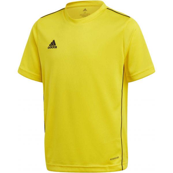 adidas CORE18 JSY Y  128 - Juniorský fotbalový dres