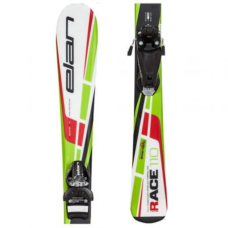 Elan RACE PRO SPORT + EL4.5 - Dětské sjezdové lyže - NESTÁRNOUCÍ PROGRAM