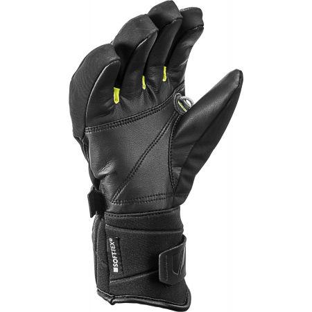 Kids' downhill ski gloves - Leki RACE COACH C-TECH S JR - 2