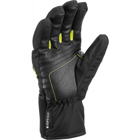 Kids' downhill ski gloves - Leki GRIFFIN S JR - 2