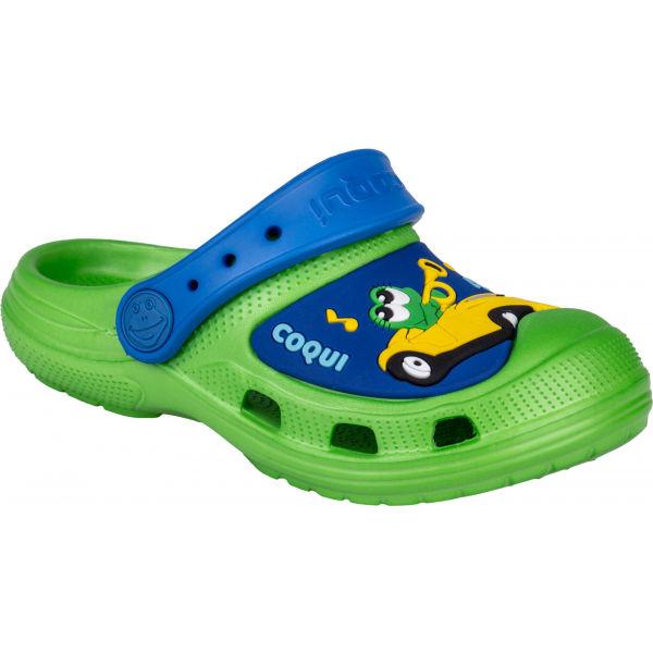 Coqui CROAKY zelená 28/29 - Dětské sandály