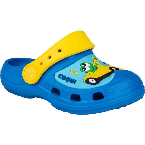 Coqui CROAKY žlutá 22/23 - Dětské sandály