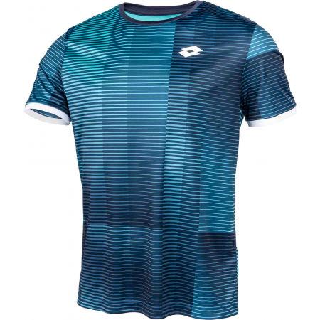 Pánske tenisové tričko - Lotto TOP TEN II TEE PRT PL - 2