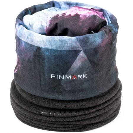 Finmark FULAR MULTIFUNCȚIONAL - Fular multifuncțional din fleece
