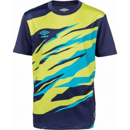 Umbro FW GRAPHIC TRAINING JERSEY JNR - Dětské sportovní triko