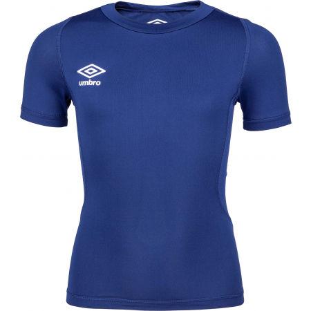 Umbro CORE SS CREW BASELAYER - Dětské sportovní triko