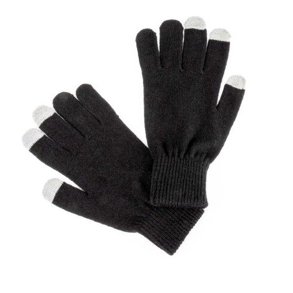 Finmark PÁNSKÉ ZIMNÍ RUKAVICE  UNI - Pánské zimní pletené rukavice