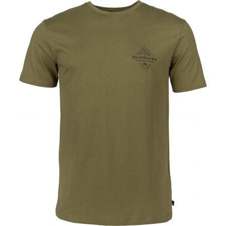 Quiksilver BEFORE LIGHT ORGANIC - Pánske tričko