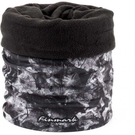 Fular multifuncțional din fleece - Finmark FULAR MULTIFUNCȚIONAL