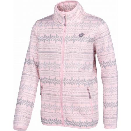 Hanorac de fete cu aspect de pulover - Lotto VLOCKA - 2