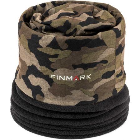 Finmark MULTIFUNKČNÍ ŠÁTEK - Multifunkční šátek s fleecem