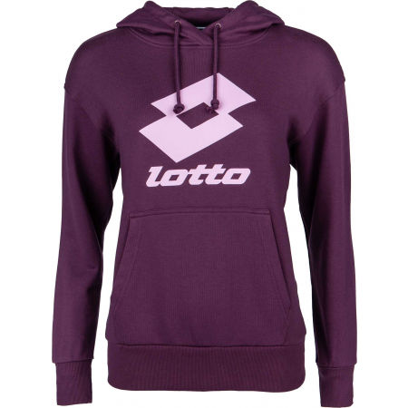 Lotto SMART W II SWEAT HD FT - Hanorac femei
