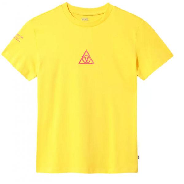 Vans WM 66 SUPPLY TRI BF CREW - Dámske tričko
