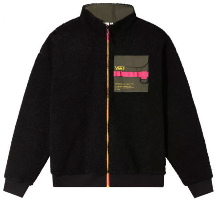 Vans WM 66 SUPPLY ZIP SHERPA - Női pulóver