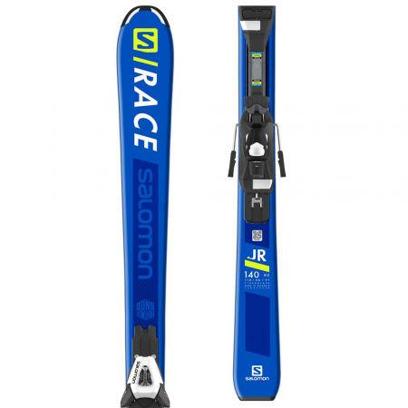 Salomon S/RACE JR M + C5EASY - Juniorské sjezdové lyže