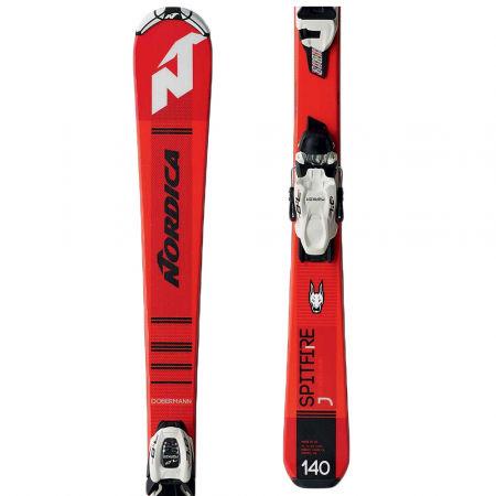 Nordica SPITFIRE J + JR7.0 FDT - Skiuri de coborâre juniori