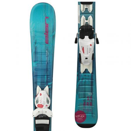 Elan STARR QS + EL 7.5 - Dívčí sjezdové lyže