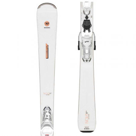Rossignol NOVA 8 CA XPRESS+XPRESS W 11 GW B83 WHT/SPKL - Dámske zjazdové lyže