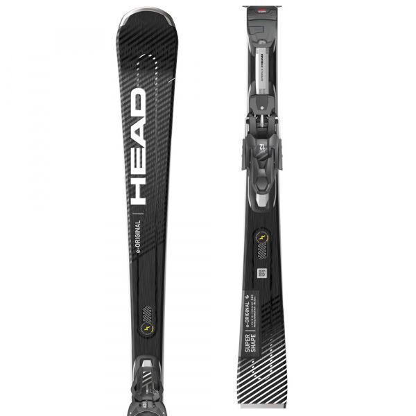 Head SUPERSHAPE E ORIGINAL+PRD 12 GW  156 - Sportovní sjezdové lyže