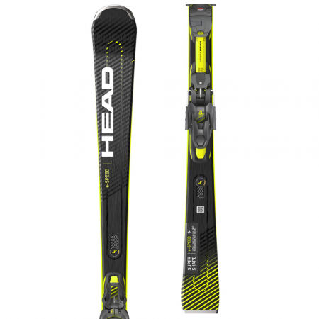 Downhill skis - Head SUPERSHAPE E SPEED+PRD 12 GW - 1