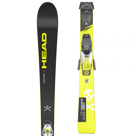 Head WC I.RACE TEAM SLR PRO+SLR 7.5 GW AC - Junior downhill skis