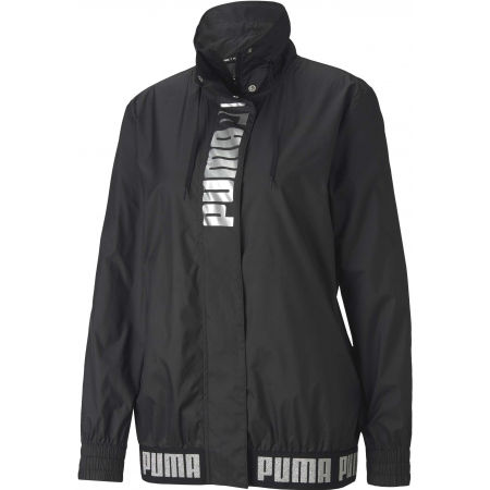 Puma TRAIN LOGO WINDBREAKER - Dámska bunda