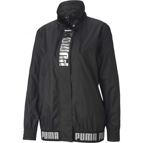 Puma TRAIN LOGO WINDBREAKER - Dámska bunda