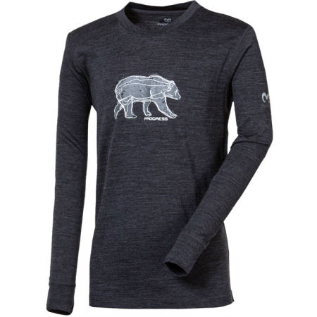 Progress MAGARO GRIZZLY - Kids' merino T-shirt