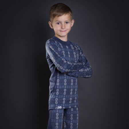 Boys' long sleeve functional T-shirt - Progress NORDIC LS-B - 3