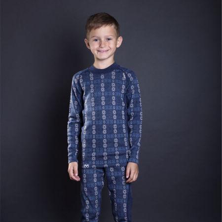 Boys' long sleeve functional T-shirt - Progress NORDIC LS-B - 4