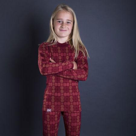 Функционална тениска за момичета - Progress NORDIC LS-G - 3