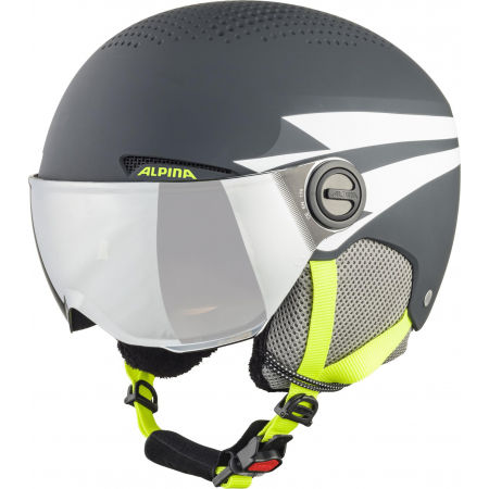 Alpina Sports ZUPO VISOR - Детска ски каска