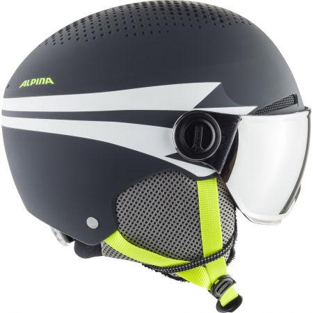 Детска ски каска - Alpina Sports ZUPO VISOR - 2