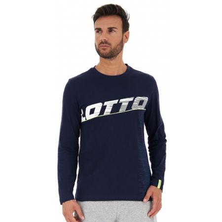 Мъжка блуза с дълъг ръкав - Lotto LOGO IV TEE LS JS - 4