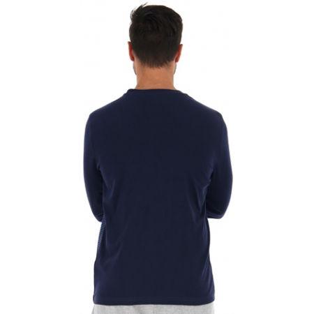 Мъжка блуза с дълъг ръкав - Lotto LOGO IV TEE LS JS - 5