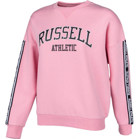 Women's sweatshirt - Russell Athletic OVERSIZED CREWNECK SWEATSHIRT - 2