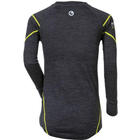 Tricou funcțional din lână Merinos pentru băieți - Progress MERINO LS-B - 2
