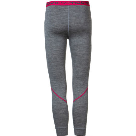 Girls' functional tights with merino wool - Progress MERINO LT-G - 2