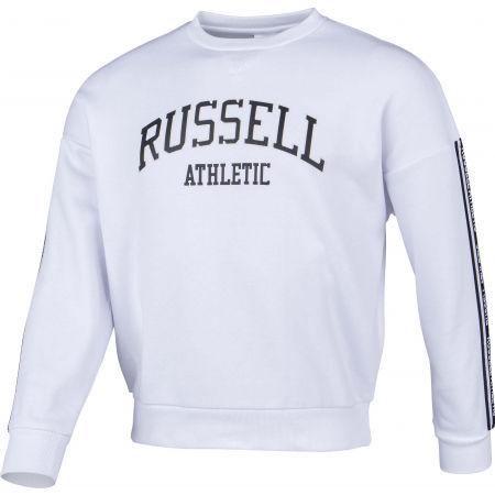 Women's sweatshirt - Russell Athletic PRINTED CREWNECK SWEATSHIRT - 2