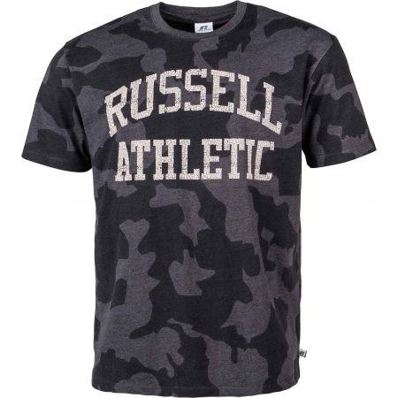 Мъжка тениска - Russell Athletic S/S CREWNECK TEE SHIRT - 1