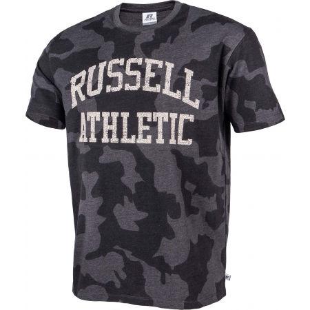 Мъжка тениска - Russell Athletic S/S CREWNECK TEE SHIRT - 2