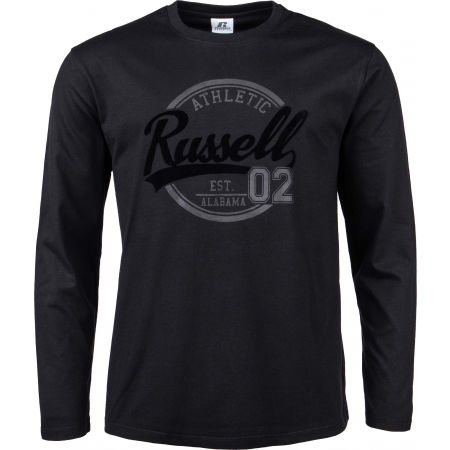 Men's T-Shirt - Russell Athletic L/S  CREWNECK TEE SHIRT - 1