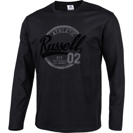 Men's T-Shirt - Russell Athletic L/S  CREWNECK TEE SHIRT - 2
