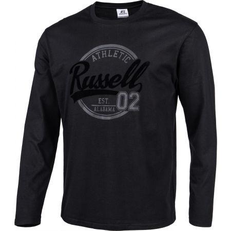 Мъжка тениска - Russell Athletic L/S  CREWNECK TEE SHIRT - 2
