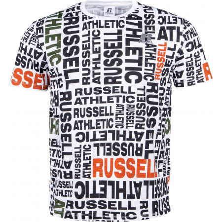 Herrenshirt - Russell Athletic AOP PRINTED S/S CREWNECK TEE SHIRT - 1