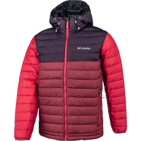 Columbia POWDER LITE HOODED JACKET - Pánská bunda