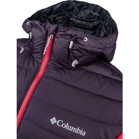 Pánská bunda - Columbia POWDER LITE HOODED JACKET - 12